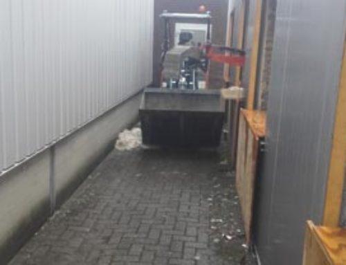 Renovatiesloopwerk betonvloer Linfosys