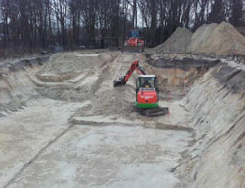 Grondwerk nieuwbouwwoning Boschkamer